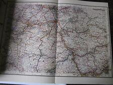 Neben- und Schmalspurbahnen Karten 16:  Lüttich Aachen Köln FRankfurt