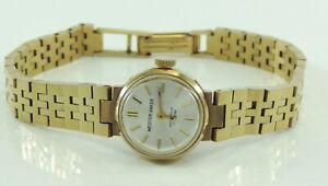 Vintage-Meister-Anker-Damen-Armbanduhr-Handaufzug