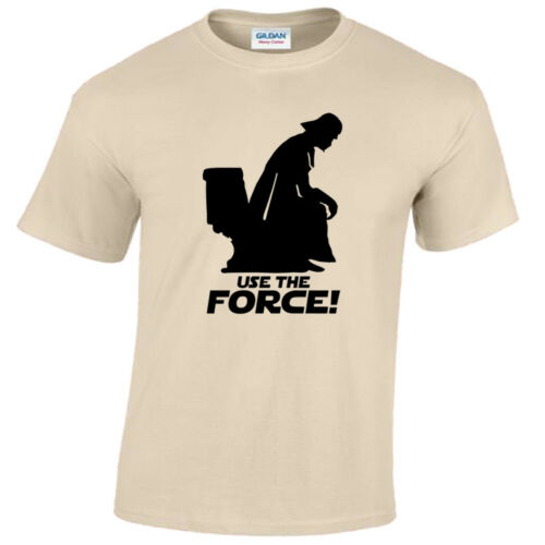 USE THE FORCE MENS T SHIRT VADER FUNNY WARS STAR GIFT