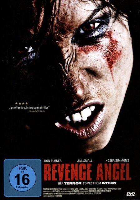 Revenge Angel - Terror - Don Turner, Jill Small & Hosea Simmons DVD NEU & OVP