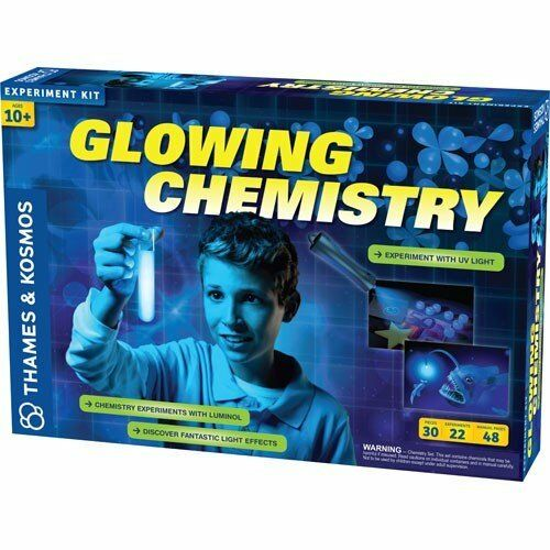 Thames & Kosmos GLOWING CHEMISTRY - Educational SCIENCE KIT 22 Experiments