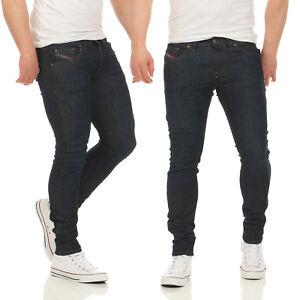 Herren Jeans Skinny 0856v Hose Diesel Super Stickker Slim Röhrenjeans Stretch 1wtxU