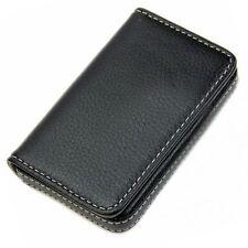 Men's Wallet Business Pocket Men Name ID Credit Card Holder Case Leather