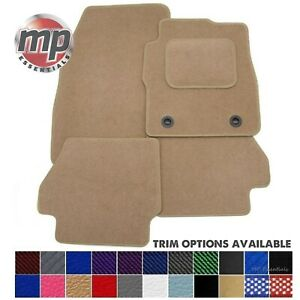 Tailored Perfectly for BMW 6 Series Gran Coupe 11-17 Beige Carpet Car Floor Mats