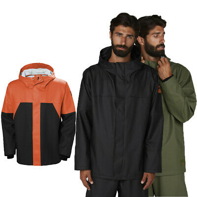Helly Hansen Mens Storm Waterproof Rain Workwear Jacket
