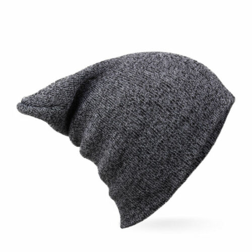Fashion Mens Womens Knit Baggy Beanie Winter Warm Knitted Hat Fit Ski Slouch Cap