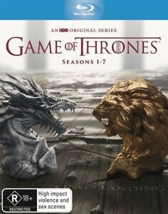 Game Of Thrones : Season 1-7 (Blu-ray, 2017, 30-Disc Set)