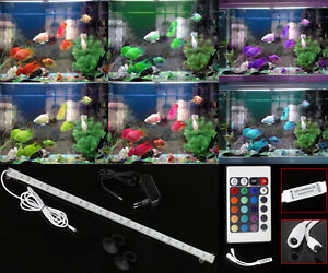 20 100cm aluminium aquarium led beleuchtung alle wasserarten tageslichtsimulator ebay. Black Bedroom Furniture Sets. Home Design Ideas