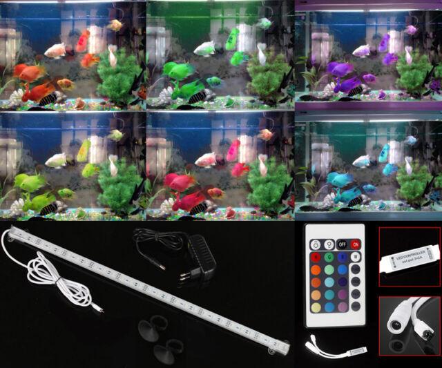 20-100CM Aluminium Aquarium LED Beleuchtung Alle Wasserarten Tageslichtsimulator