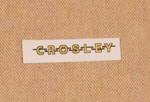 Crosley-Radio-Logo-Water-Slide-Decal-Old-Antique-Wood-Vintage-Tube-Radio-Parts