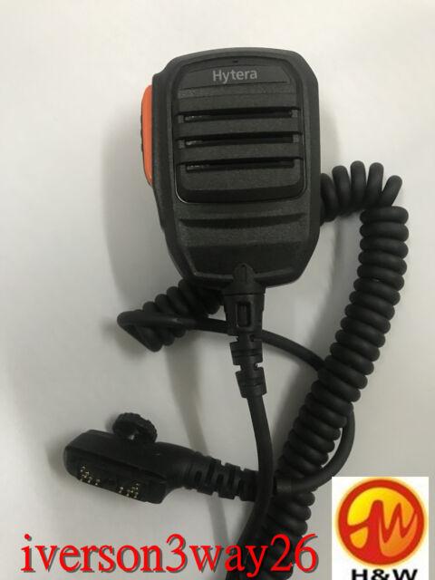 Rainproof Heavy Duty Radio Speaker Mic Mike for Hytera HYT PD788 PD782 PD700G