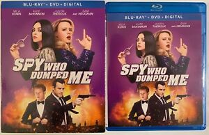 THE-SPY-WHO-DUMPED-ME-BLU-RAY-DVD-2-DISC-SET-SLIPCOVER-SLEEVE-FREE-SHIPPING