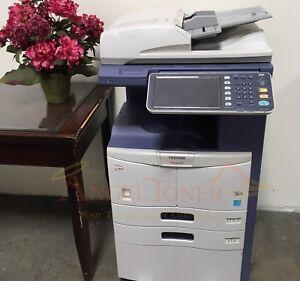 Details about Toshiba E-STUDIO 357 Mono MFP Laser Printer Copier Scanner 35  PPM A3