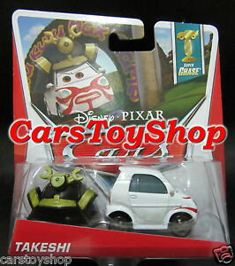 Disney-Cars-2-Takeshi-Super-Chase-Pixar-Diecast-Japanese-Game-Show-Contestant