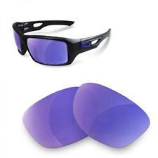 Fit&See Lentes de Recambio Polarizada para Oakley Eyepatch 2 (Purple Mirror)