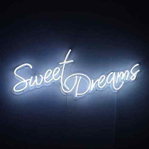 """New Sweet Dreams Neon Sign Lamp Light Acrylic 24/""""x12/"""" With Dimmer"""