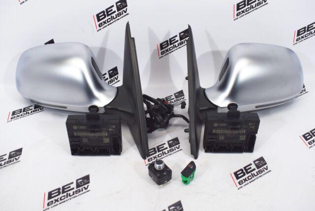 Audi RSQ3 Q3 8U Espejos Cromado Mate Plegable Cambio de Carril Kit Espejo