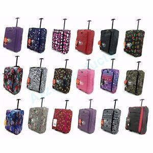 Cabin-Hand-Luggage-Suitcase-Ryanair-Wheeled-Trolley-Travel-easyjet-Case-Bag