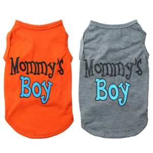 Pet-Dog-Vest-Mommy-039-s-Boy-Small-Dog-Cat-T-Shirt-Puppy-Summer-Clothes-Coat-Outfit