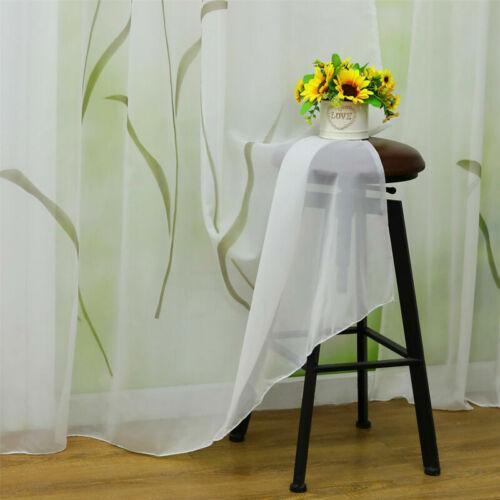 Gardinen Wohnzimmer Vorhänge Weiß Dekogardinen Stores Schlaufenschal Transparent