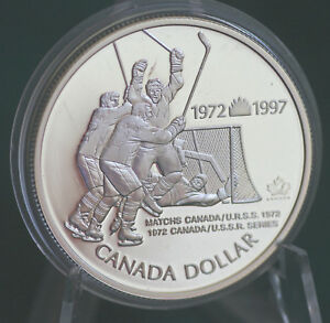 1997-CANADA-1-Summit-Hockey-series-25th-anniversary-commemorative-silver-dollar