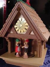 1987 HALLMARK MAGIC CHRISTMAS ORNAMENT German couple house LOVING HOLIDAY wBXPT