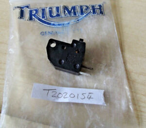 ORIGINAL-TRIUMPH-Hinckley-Cache-MANO-CONTACT-FREIN-t2020154-DAYTONA-TRIPLE