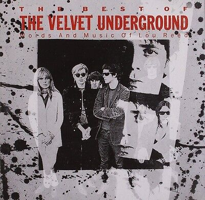 Velvet Underground Best Of CD NEW SEALED Lou Reed White Light/White Heat/Heroin+