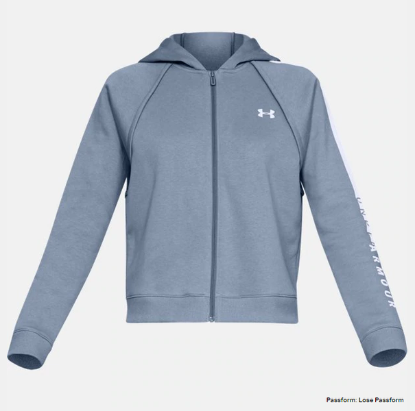 Under Under Under Armour Rival Fleece mit durchgehendem Zip Damen 1317856 a3bf89