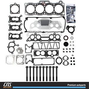 Engine Cylinder Head Bolt Set Fits 87-93 Mazda B2200 2.2L-L4
