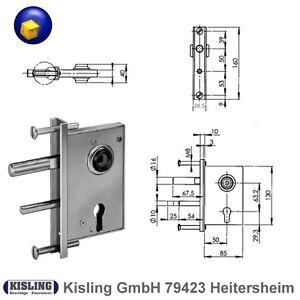 Fuhr MULTISAFE 855 Haustürschloss Renovierung 55//10//72 Stulp F20 mm