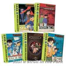 Case Closed: TV Series Complete Season 1 2 3 4 5 Episode 1-130 DVD Box Set(s)