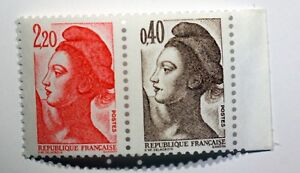 FRANCE-n-2376b-Neuf-Timbres-attenant-a-une-vignette