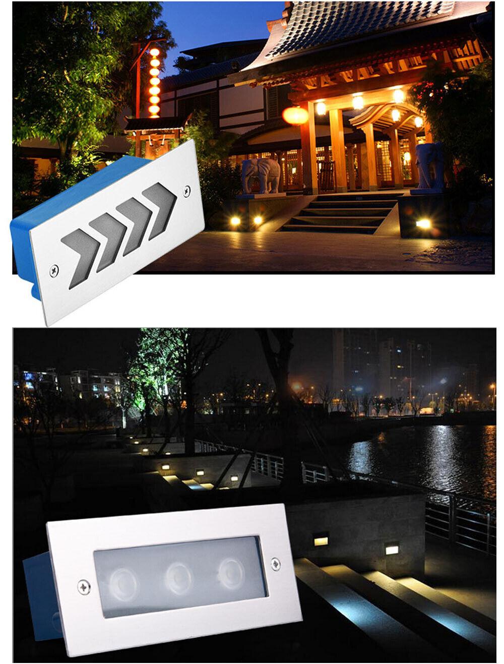 Masterlite Eden Outdoor Recessed LED Ground Light Warm White 2.5W NEW
