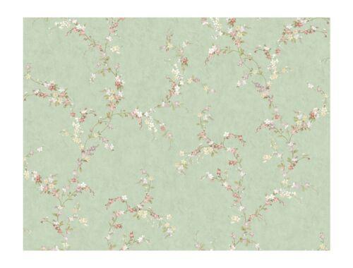 Mint Green DOUBLE ROLL York Keepsake GP7232 One Color Trail Wallpaper