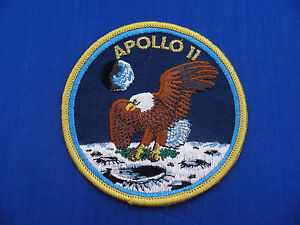 Vintage-Lion-Brothers-Apollo-11-XI-Patch-4-034-Mint-or-Near-Mint-NASA