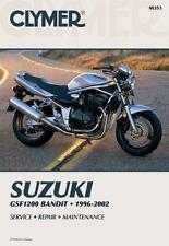 1996-2003 Suzuki GSF1200 GSF1200S Bandit Clymer Repair Manual M353