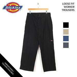 Dickies-trabajador-Loose-Fit-Trousers-trabajo-grado-a-W30-W32-W34-W36-W38-W40