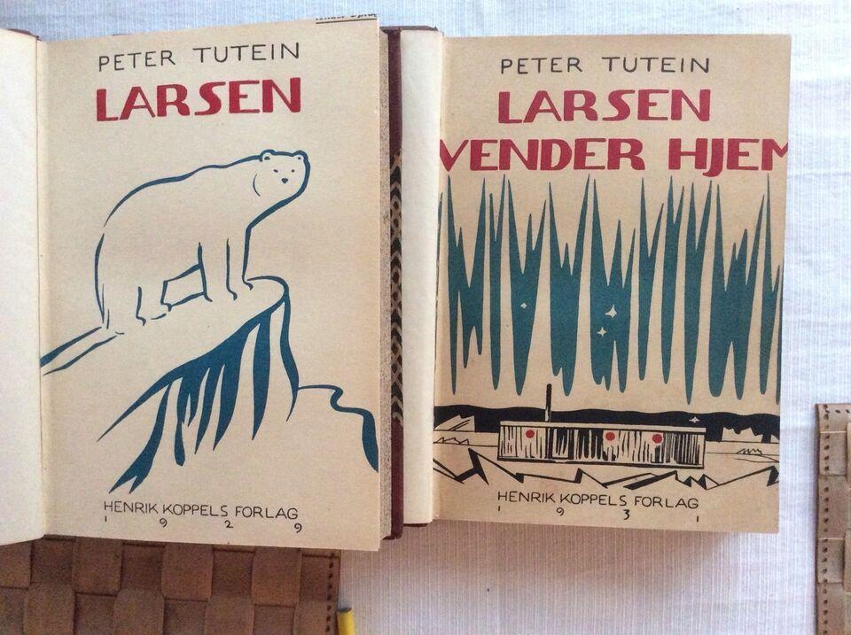Larsen og Larsen vender hjem, Peter Tutein , emne: historie