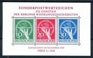 Berlin MiNr. Block 1 I mit Falz (MA665