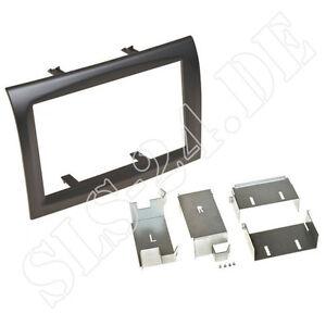 doppel 2 din radioblende autoradio blende fiat ducato 2011. Black Bedroom Furniture Sets. Home Design Ideas