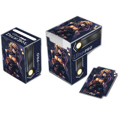 Ultra Pro 84121 Gaming Card Deck Box Top Loading Tin Dark Side of Oz Tin Man