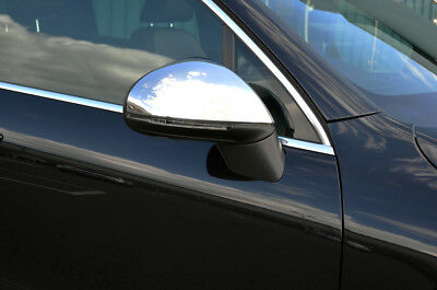 Chrome Wing Mirror Trim Set Covers To Fit Volkswagen Touareg (2011+)