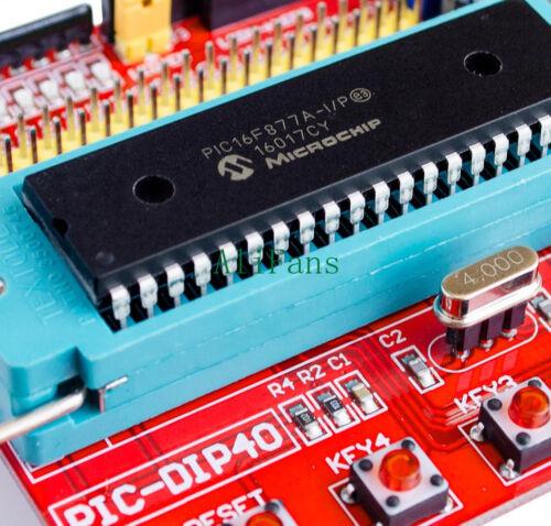 Microchip PIC16F877 PIC16F877A 1PCS Mini System PIC Development Board