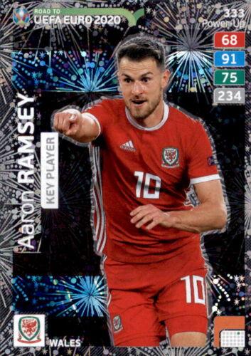 333-Aaron Ramsey-key player-Panini Adrenalyn Road to Euro em 2020