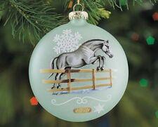 Breyer Horses 2016 Artist Signature Glass Christmas Tree Ornament - 700820