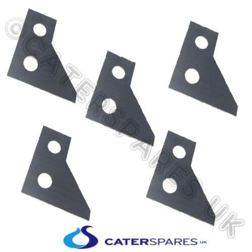 5 x Hobart PATATINA ALLEGRO lame affilate coltelli in acciaio inox