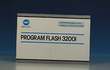Minolta Program Flash 3200i manuale d'uso German manual - (91035)