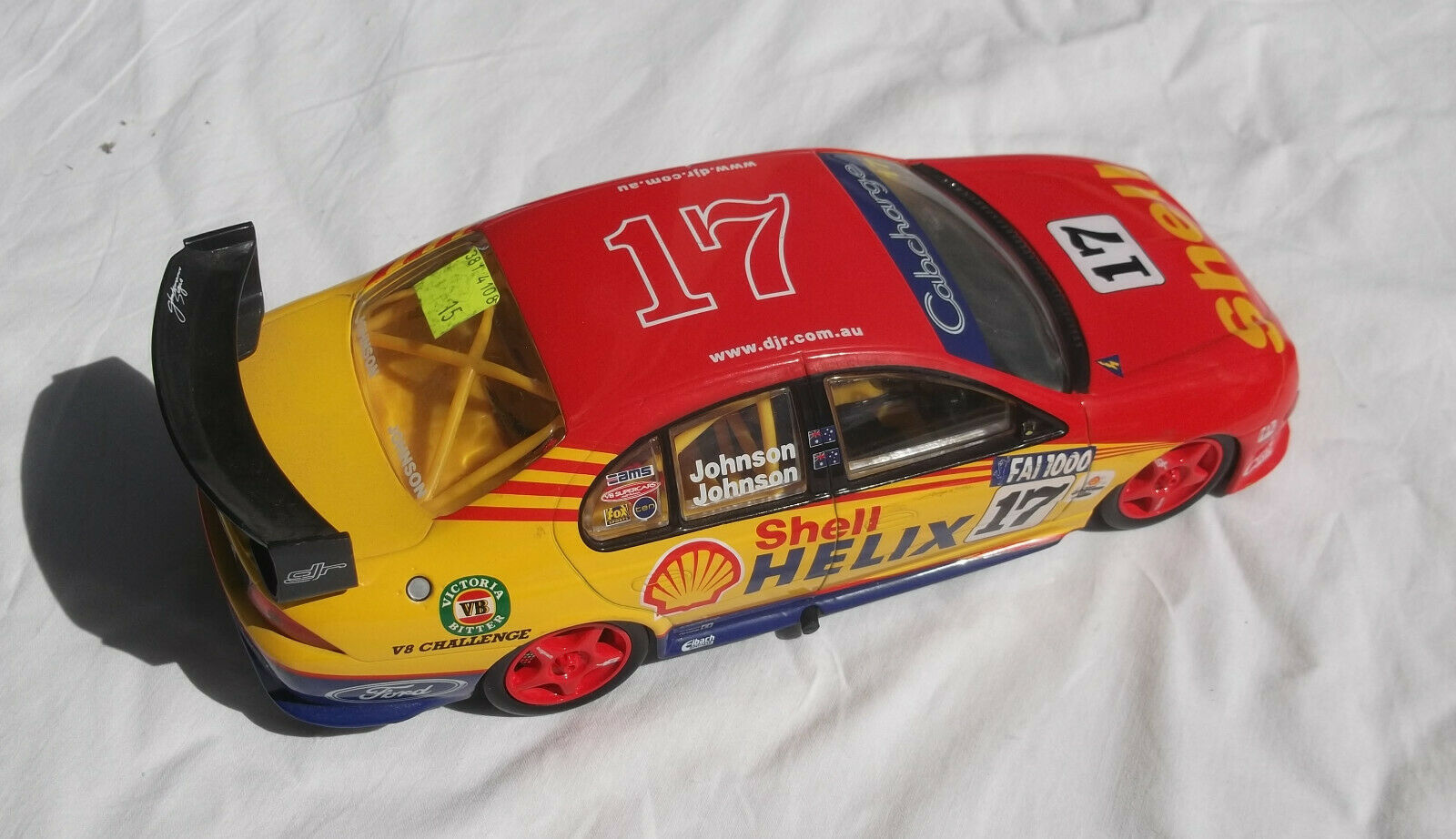 Classic Collectable AU3 Ford Falcon Dick Steven Johnson Shell Helix Racing
