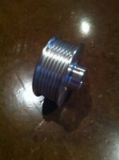 """2.50"""" 6 rib Supercharger PULLEY for VORTECH 20mm bore, POWERDYNE, SCORPION VW"""